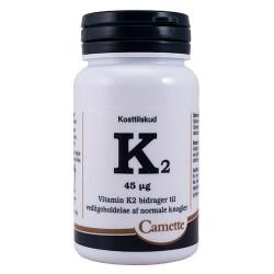 Camette K2 Vitamin 45 mcg