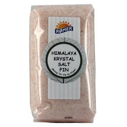 Himalaya krystalsalt fint fra Rømer - 500 gram
