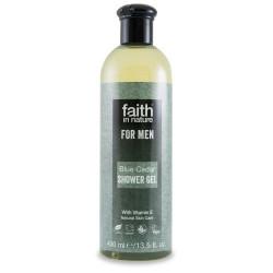 Faith in nature Showergel Blue Cedar mænd - 400 ml