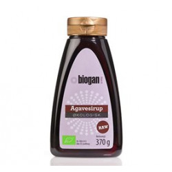 Biogan Agave sirup mørk Økologisk - 350 gram