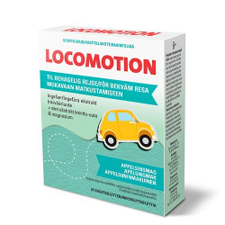 LOCOMOTION Transport sugetabletter (20 tab)