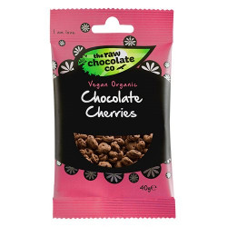 Nature Source Chocolate Cherries m. Rå Chokolade Ø (40 g)