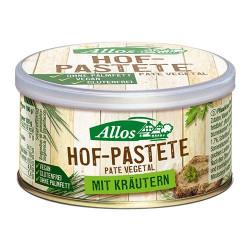 Smørepålæg med Urter fra Allos Økologisk - 125 gr