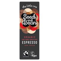 Seed & Bean Mørk Chokolade Espresso 58% Ø (25 g)