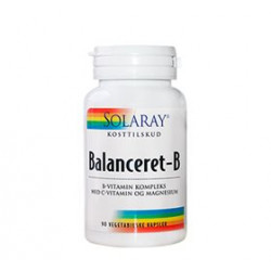 Solaray Balanceret-B (90 kapsler)