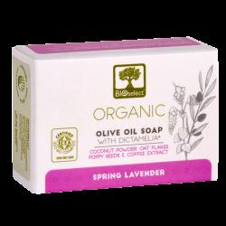 Bioselect Pure Olive Oil Soap Håndsæbe Spring Lavender