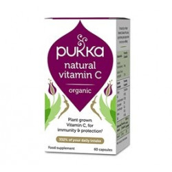 Pukka Neutral Vitamin C Ø (60 kapsler)
