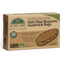 Sub/mini baguette sandwich bags (30 stk.)