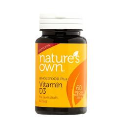 Vitamin D3 vegan udvundet af lavekstrakt (60 kaps.)