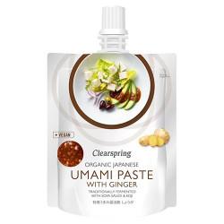 Clearspring Japansk umami paste m ingefær Ø (150 g)