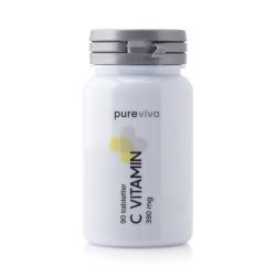 Pureviva C Vitamin 390mg (90 tab)