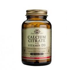 Solgar Calcium Citrate Vitamin D3 (60 tabs)