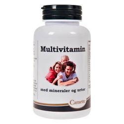 Camette Multivitamin Med Mineraler Og Urter (120 stk)