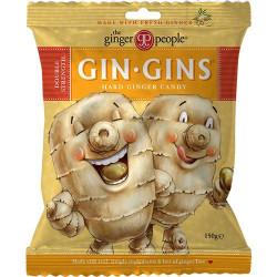 The Ginger People GinGin Hard Ingefær Bolcher (150 g)