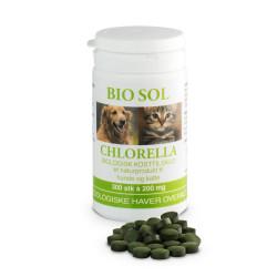 Bio Sol Chlorella til veterinært brug - 300 tabl.