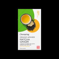 Clearspring Matcha Ginger Ø (20 br)1