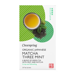 Clearspring Organic Japanese Sencha Blend Mint Green Tea Ø (20 breve)