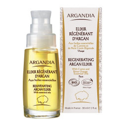 ARGANDIA Organic Regenerating Argan elixir - 30 ml