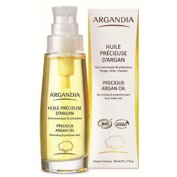 ARGANDIA Organic Pure Precious Argan oil - 50 ml.