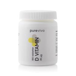 Pureviva D-Vitamin 35µg (180 tab)