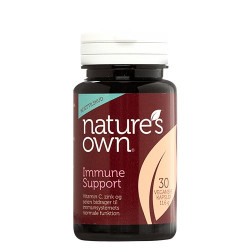 Nature's Own Immune Support med beta-glucan (30 kaps.)