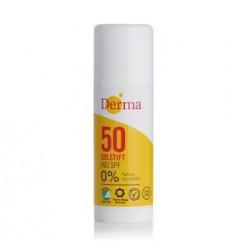 Derma Sun Solstift Høj SPF 50 (15 ml)