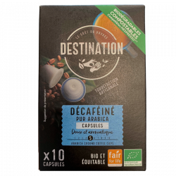 Destination Kaffekapsler Koffeinfri (55 g)
