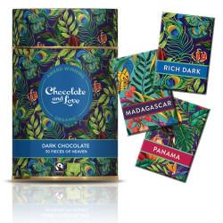 Chocolate & Love Gavedåse Chokolade Rich Dark Ø (30 stk)