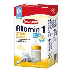 Allomin 1 sensipro modermælkserstatning 700 gram