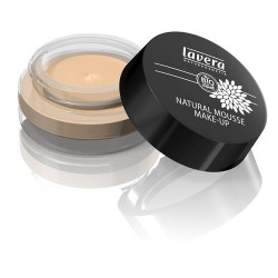 Lavera Natural Mousse make-up Ivory - 15 ml.