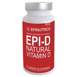 Epinutrics EPI-D Natural Vitamin D (60 kaps)