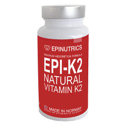 Epinutrics EPI-K2 Natural Vitamin K2 (60 kaps)