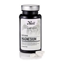 Magnesium Food State fra Nani - 60 tabletter