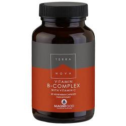 B-complex med C-vitamin (50 kap)