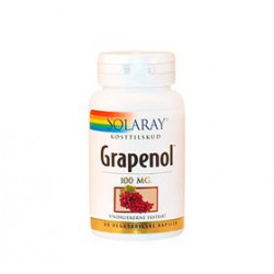 Solaray Grapenol 100 mg (30 kapsler)