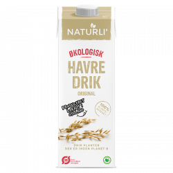 Havredrik Naturli Økologisk - 1 liter