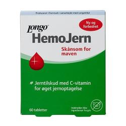 Longo Hemo Jern (100 tabletter)