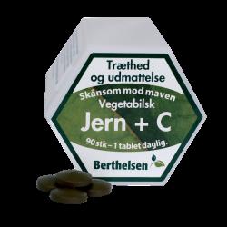 Berthelsen Jern + C (90 tabletter)