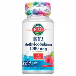 KAL B12 Methylcobalamin (90 tabletter)