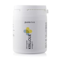 Pureviva Krillolie 500 mg (200 kap)