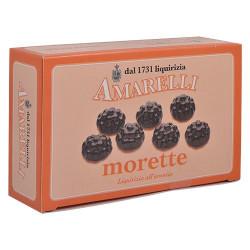 Amarelli Engelsk Lakrids Sød med Appelsin (100 gr)