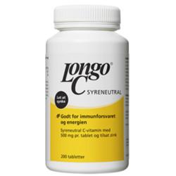 Longo C stærk 500 mg (200 tabletter)