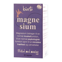 BiOrto Magnesium (90 kapsler)