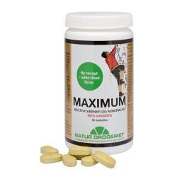Natur Drogeriet Maximum med Ginseng (90 tabletter)
