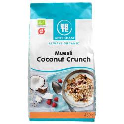 Mysli coconutcrunch Urtekram Øko - 450 kram