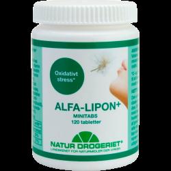 Naturdrogeriet Alfa Lipon tabletter (120 stk)