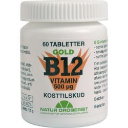 Natur Drogeriet B12 Mega Vitamin 500 ug (60 tabletter)