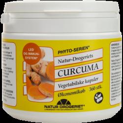 Natur Drogeriet Curcuma kapsler (360 stk)