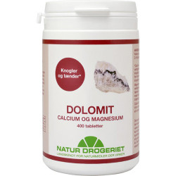 Natur Drogeriet Dolomit Magnesium/Calcium (400 tabletter)