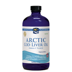 Nordic Naturals Torskelevertran m.appelsin Cod liver oil (474 ml)